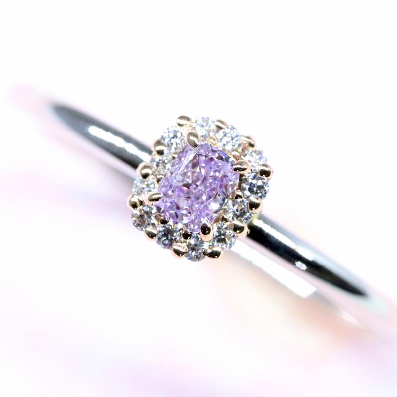 Lucuole-Bridal Conpeito L-155 天然カラーダイヤモンド
