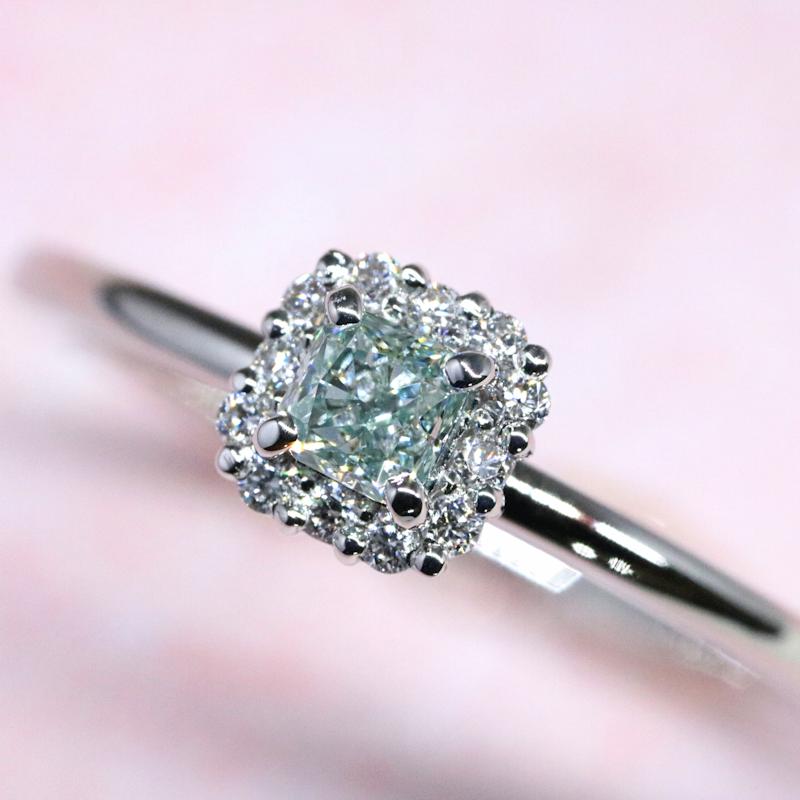 Luciole-Bridal Conpeito L-138 天然カラーダイヤモンド