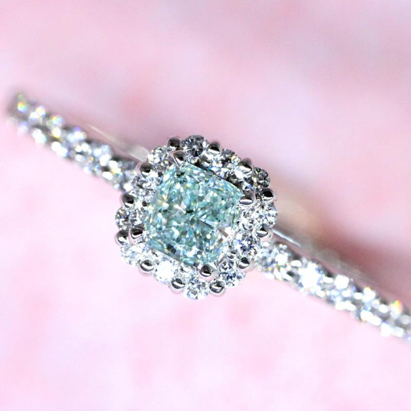 Luciole-Bridal Conpeito L-189 天然カラーダイヤモンド