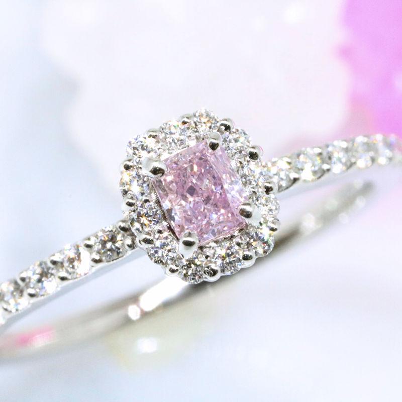 Luciole Bridal Conpeito L-202 天然カラーダイヤモンド