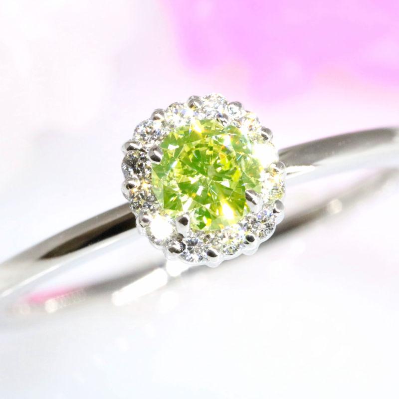 Luciole Bridal Conpeito L-203 天然カラーダイヤモンド